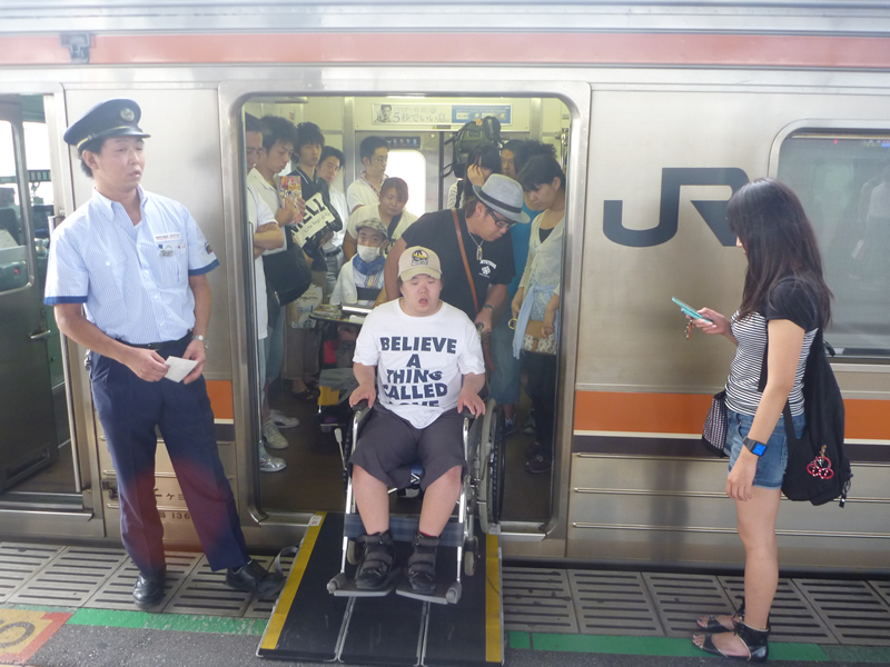 松戸市の養護施設の方へのボランティア活動